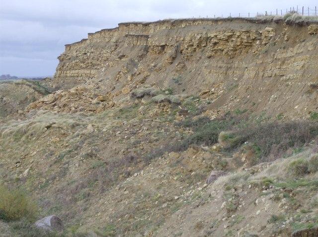 Erosion at Broadrock