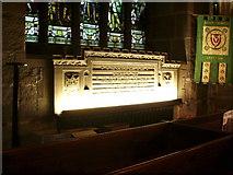 SD9951 : Holy Trinity Church, Skipton, War Memorial by Alexander P Kapp