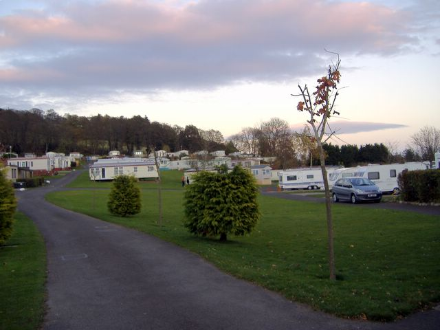 Twilight at Campsite in Rattray