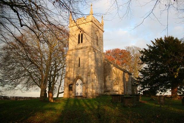 St.German's church, Ranby