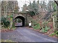 NY8261 : Bridge on the (former) Hexham to Allendale branch line at Langley by Mike Quinn