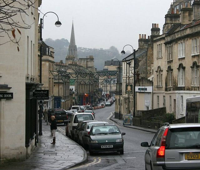 2007 : Walcot Street Bath from the north