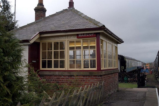 Signal box, Warcop Station