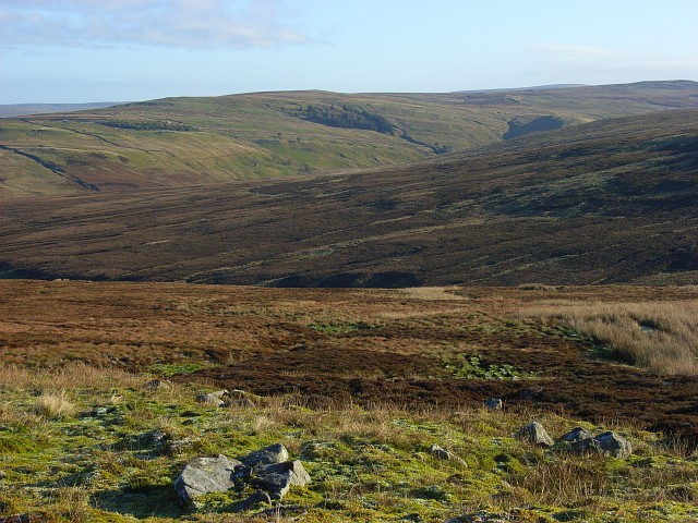 The valley of Smittergill Burn