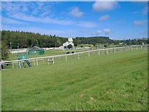 SD3778 : Cartmel racecourse by kevin rothwell