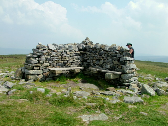 Shelter on Great Shunner Fell