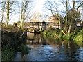 SJ5816 : Ercall Mill Bridge by Paul Beaman