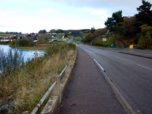 Road in Lairg
