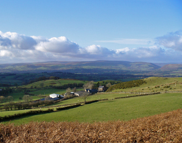 View overlooking Upper House Farm
