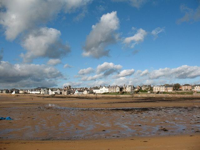 Low tide in Elie Bay