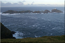 HP6019 : The Muckle Flugga reef by Mike Pennington