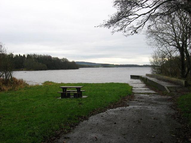 Landing stage, Lough Sheelin, Co. Cavan
