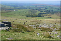 SX5680 : Western slope of Lynch Tor by Nigel Mole