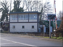 SO6302 : Dean Forest Railway - Lydney Junction signal box by Nick Mutton