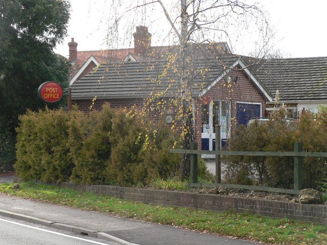 Burridge: the post office