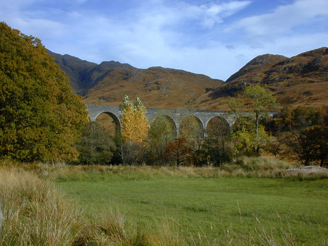 The bottom of Glen Finnan