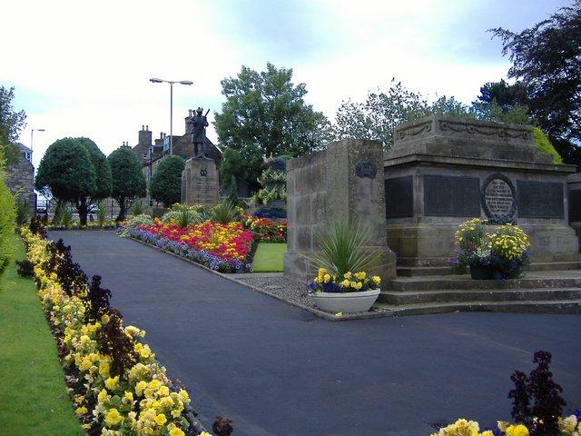 War memorial and remembrance garden