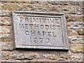 NY8261 : Plaque on the (former) Primitive Methodist Chapel by Mike Quinn