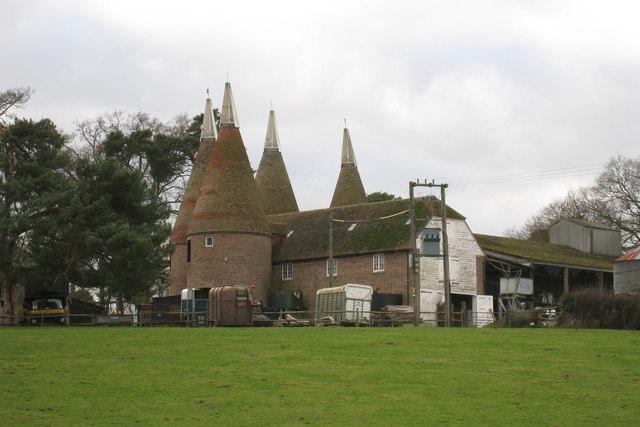 Oast House at Little Scotney Farm, Lamberhurst, Kent