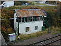 NG7627 : Kyle of Lochalsh signal box by Nigel Brown