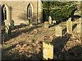 NZ0182 : The graveyard of St Wilfrid's Church by Mike Quinn