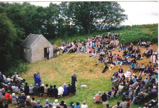 Outdoor Preaching at Ferintosh Burn