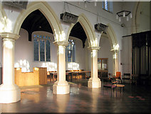TL8683 : St Peter, Thetford, Norfolk - north arcade by John Salmon