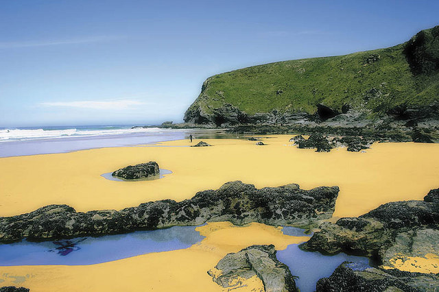 North Watergate at low tide