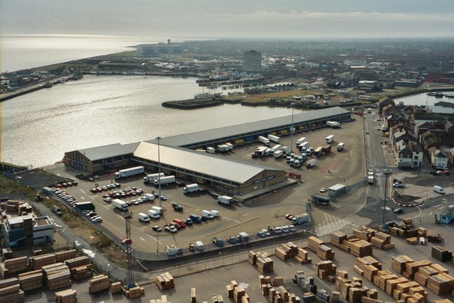 Grimsby Fish dock and Fish market