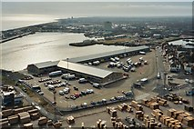 TA2711 : Grimsby Fish dock and Fish market by Roger Damm