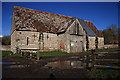 ST8303 : Manor Farm Barn - Winterborne Clenston by Mike Searle