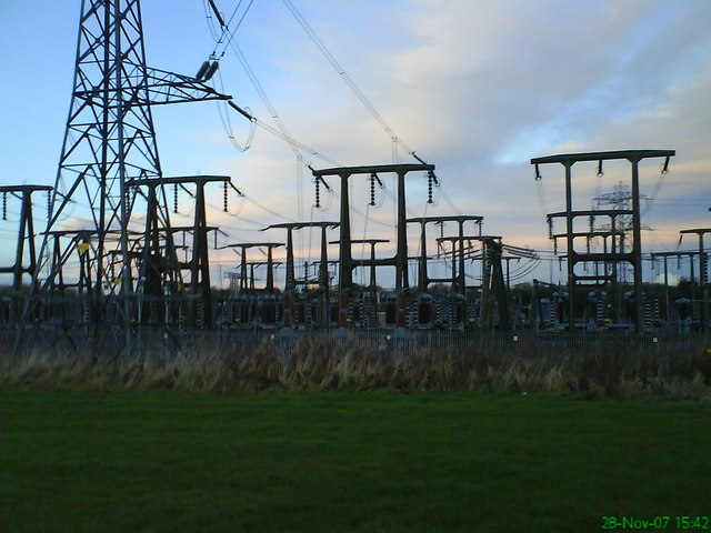 Power grid Gowkthrapple