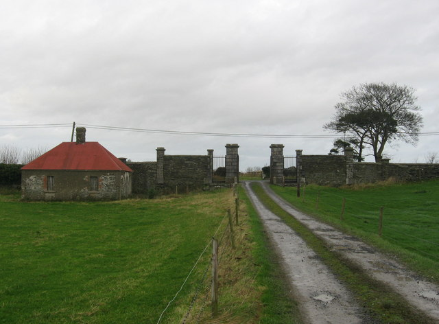 Gates at Balnagon, Co. Meath