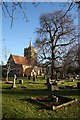TL4748 : Whittlesford Church by Bob Jones