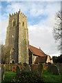 TG4202 : St John the Baptist's Church (2) by Evelyn Simak