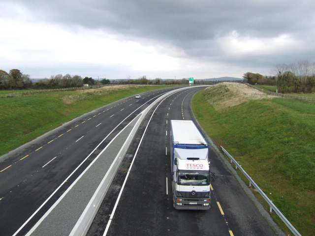 The N11 south of Arklow