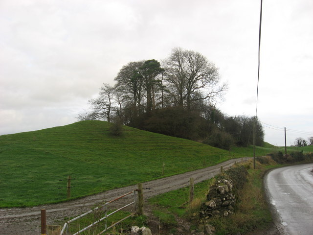 Motte and Bailey, Castlecor, Co. Meath