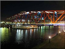 SJ8097 : Detroit Bridge by night by Oliver Dixon