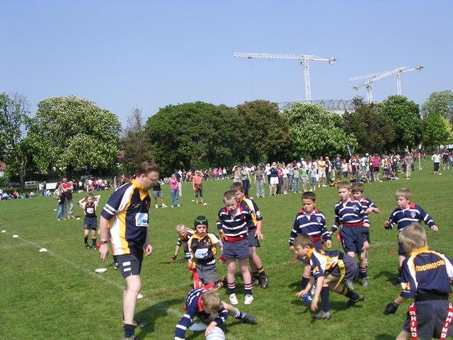 Stourbridge Juniors in action at Harlequins