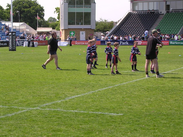 Stourbridge Rugby Club Juniors at the Stoop