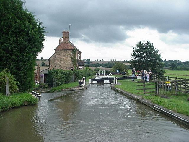 Oxford Canal Somerton Deep Lock
