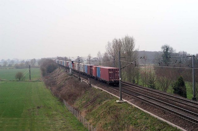 Container Train heading South