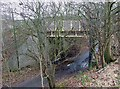SO8694 : Bridge over Flash Lane, Wombourne, Staffordshire by Roger  Kidd