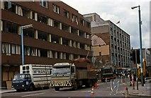 J3474 : Belfast -  the morning after . . . by Albert Bridge
