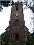 SJ3464 : Tower, St Mary's Church, Broughton by Eirian Evans