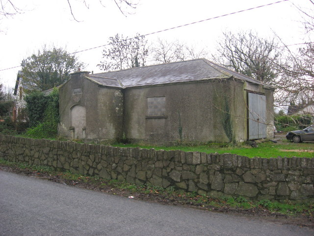 Old school at Clonalvy, Co. Meath