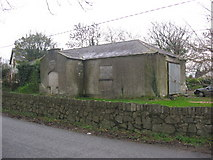 O0961 : Old school at Clonalvy, Co. Meath by Kieran Campbell