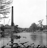SE0063 : Awaiting the axe: Linton Mill chimney, Wharfedale by Dr Neil Clifton