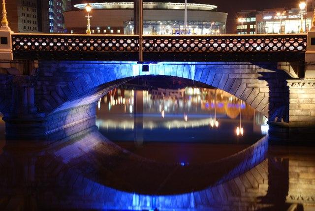 Arch, Queen's Bridge, Belfast