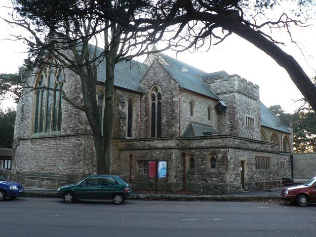Bournemouth: former parish church of St. Swithun